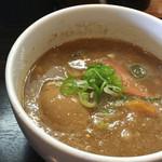 46802436 - つけ麺スープ  濃厚でとろ〜り♪