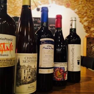 ワイン多数!あなたの「好き」を見つけましょう!