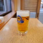 たけ屋 - 生ビール(490円)