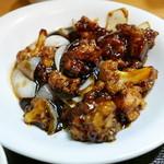 七福家 - 鶏の黒酢あんかけup