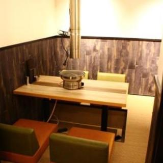 宴会向きの席【8名様】2階の半個室風の掘りごたつ席。団体様やご家族様に大人気