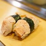 栄寿司 - 2016.1 あんきも(1貫220円)