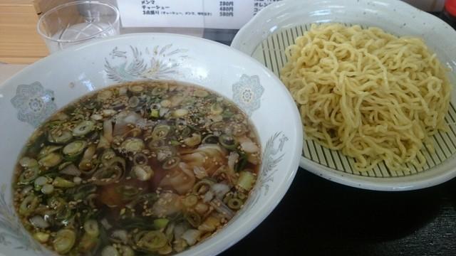 支那そば一麺 - ワンタンつけ麺(醤油)