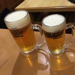 46809081 - 生ビール大と中