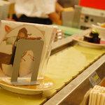 あじわい回転寿司 禅 - CD回ってました