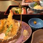 鯛家 - 日替わりの天ぷら