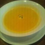 キッチン雅木 - カボチャのスープ