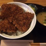 46813982 - 竹の家のかつどん(ソースカツ丼)【料理】