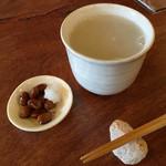 そば切り 山親爺 - 芋焼酎の蕎麦湯割り