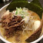 ど・みそ - 白味噌こってりラーメン 2016.1