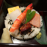 46817324 - 炙りちらし寿司