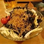 46817879 - カリカリジャコと岩のりと白菜サラダ