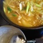 竹ちゃん - 牛肉カレーうどん 1、5玉