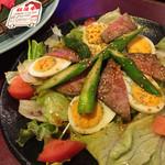 46819182 - 田じまスペシャルサラダ。