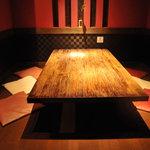 とりひめ - お部屋毎に異なる雰囲気の個室