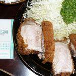 洋食かつ 兎 - 秩父「エデン」の特上とんかつは、厚さ5センチ!