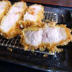 洋食かつ 兎 - 厚切ロースカツ(大盛)1,800円