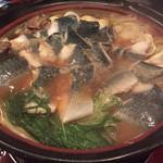 ゆるり屋 - 長崎ハーブ鯖のヒカリ鍋②