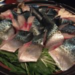 ゆるり屋 - 長崎ハーブ鯖のヒカリ鍋①
