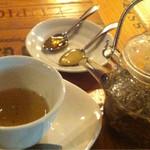 パーレンテッシ - 食後の紅茶。