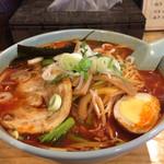 ラーメン小太郎 - 正油 野菜・麺大盛り