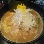 麺や 楓雅 - 豚骨魚介らーめん(\750)