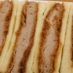 たつやのキッチン 肉のはつかの - ヒレカツサンド