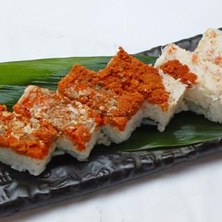 『北よし特製押寿司』お持ち帰りに是非!予約時にご注文下さい♪