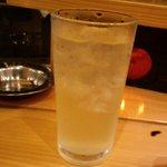 ナカラ - 酎ハイおかわり入りまーす♪2010.6