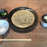 円山 古今 - 塩すだち蕎麦、980円です。