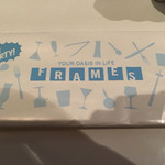 フレイムス - おしぼりのパッケージ個人的に好き