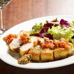 食堂Tavolino - 当店人気の厚切りコトレッタ