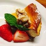 食堂Tavolino - ゴルゴンゾーラのチーズケーキ