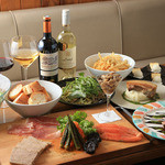 Bistro Cafe GAVA - 料理写真:gavaのパーティプラン飲み放題付き