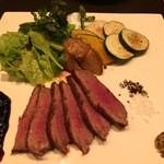 セタ オーガニックレストラン - 野菜も美味しい鴨のグリル