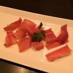 セタ オーガニックレストラン - ワインとよく合う白神山地の生ハム