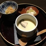 湯沢釜蔵 - 茶碗蒸し、漬物、小鉢