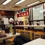 永坂更科 布屋太兵衛 - 座れる店内の様子