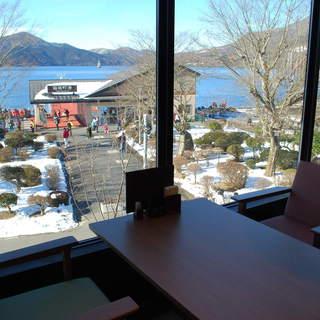 ★箱根の景色を独り占め!お店から開放的な眺め