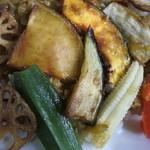 46835756 - 野菜の素揚げ