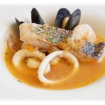 クイーン・アリス・カフェ - 魚介のスープ仕立て