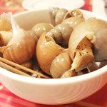 ビストロ・ガタン - バイ貝の冷製 600円