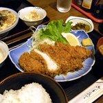 あずさ - 料理写真:チキンかつ定食¥780-