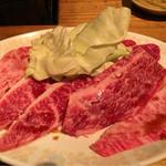 焼肉 とーがらし - 和牛ロース  1500円