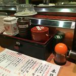 京寿司 - 京寿司 門司店(福岡県北九州市門司区東新町)カウンター