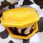 こう太郎のあいす屋さん - アイスモナカ(チョコレートソースがけ)