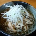 そば処 萬乃助 - 冷たい肉そば(800円※税別)