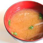 武内食堂 - 味噌汁