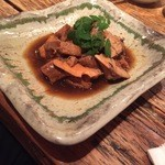 酒呑 - ★8 鮟肝の醤油山椒煮