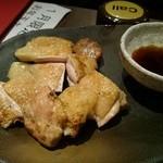 46849591 - これが目玉か?大山鶏が柔らかジュ~シ~(*˘︶˘*).。.:*♡
